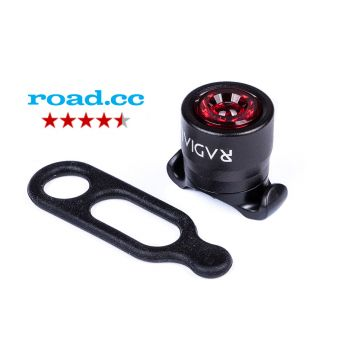 Radial Pharos Mini Rear Safety Bike Light - Black
