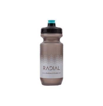 Radial Bike Water Bottle - Smoke / White - 500ml - Smoke/White - 500ml