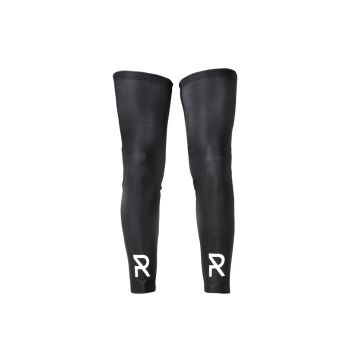 Radial Cycling Legwarmers - Black - One Size