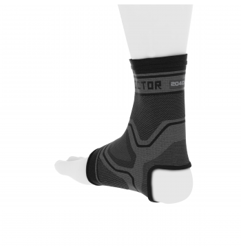 Shock Doctor Compression Knitted Ankle Sleeve With Gel Support