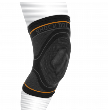 Shock Doctor Compression Knitted Knee Sleeve With Gel Support