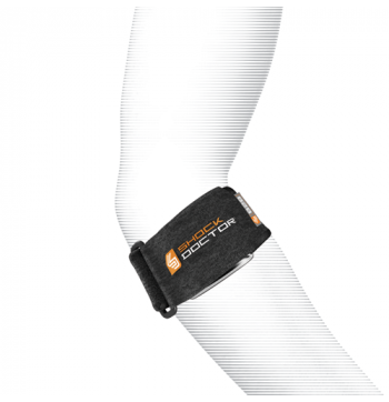 Shock Doctor Tennis Elbow Support Strap - Black - One Size