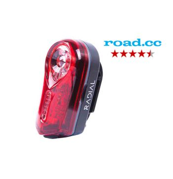 Radial Blaze 0.5 Watt Rear Bike Light - Black