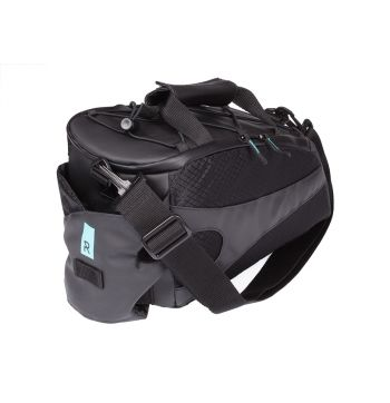 Radial Convey Racktop Bike Bag - Black