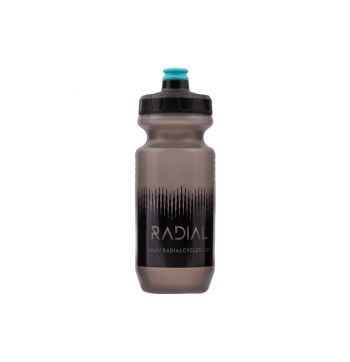Radial Bike Water Bottle - Smoke / Black - 500ml - Smoke/Black - 750ml