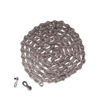 Radial 10 Speed Bike Chain - Silver - 10 Speed - Silver/Silver - 10 Speed