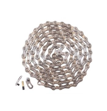 Radial 11 Speed Bike Chain - Silver - 11 Speed - Silver/Silver - 11 Speed