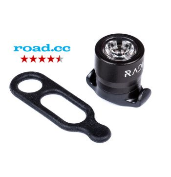 Radial Pharos Mini Front Safety Bike Light - Black