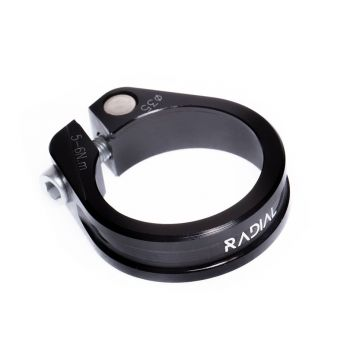 Radial Fixed Bike Seatclamp 31.8mm - Black - 31.8mm